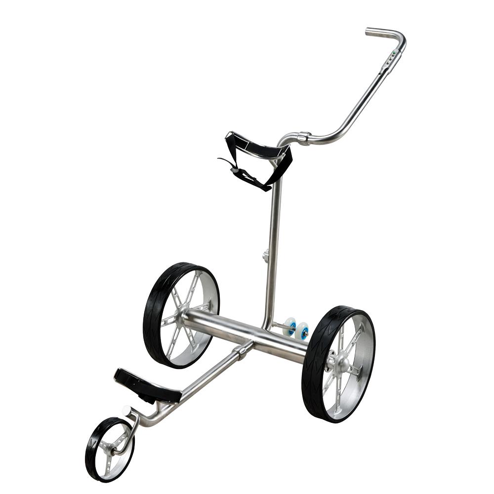 selowo lectrique en acier inoxydable chariot de golf distance vente chaude en allemagne. Black Bedroom Furniture Sets. Home Design Ideas
