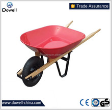 150kg capacity wheel barrow WB6013 fire wood cart American dualie 8 cuft poly wheel barrow fire wood cart fire wood cart Union