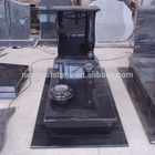 China black granite tombstone and monument pictures cheap price