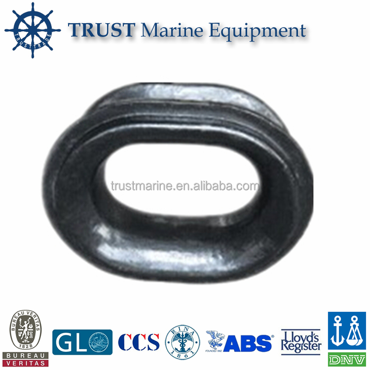 Steel marine A type cable chock for ship boat