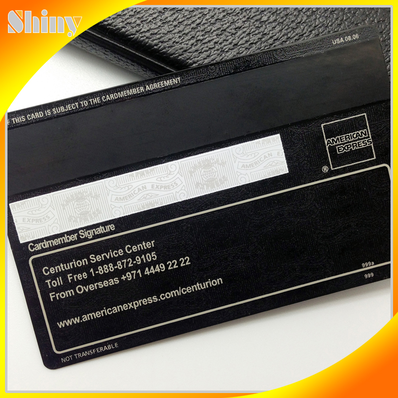 Good Quality Amex Embossed Metal Business Cards - Buy Black Card ...