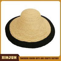 2016 Fashion Promotional Natural Rush Straw Hat