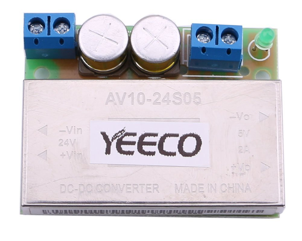 Cheap Voltage Regulator Power Find Deals On Simple Dc Regulated Supply With Overcurrent Get Quotations Yeeco Buck Converter 10 24v 12v To 5v 15a Step