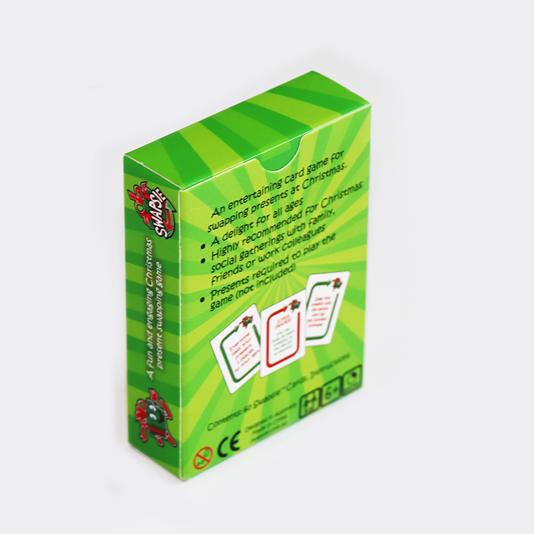 Create custom board game, trading card game printing factory