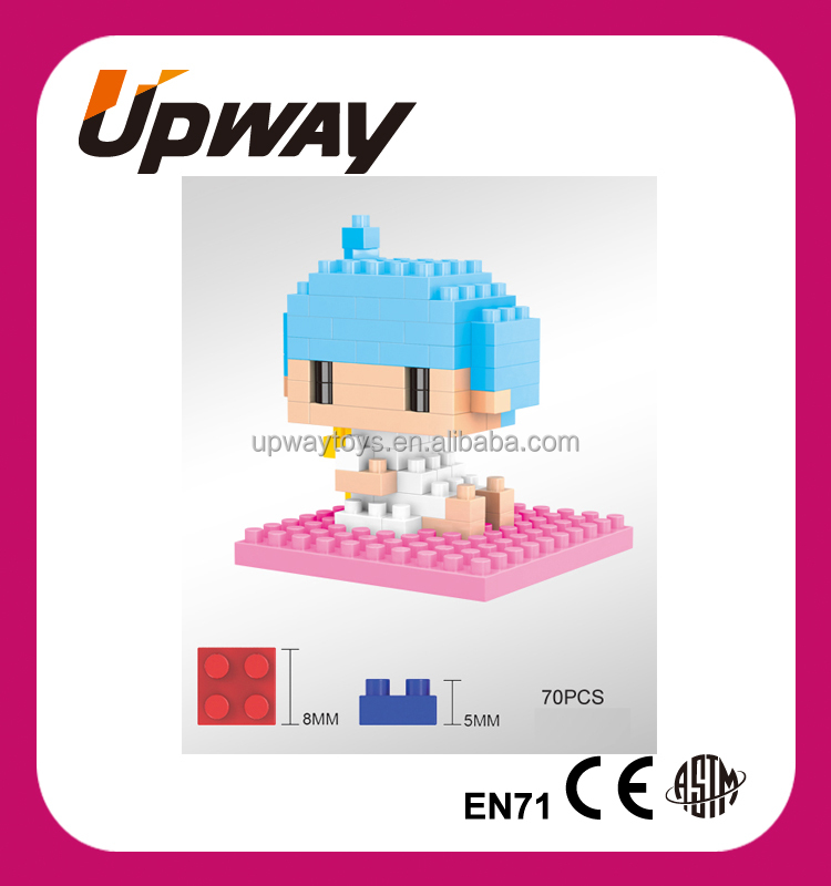 Self-Assemble Mini Brick Toys Diamond Building Blocks Boys Figure Building Block