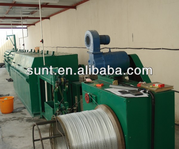 Professional GXD-Zn-A Single Wire Galvanizing Line