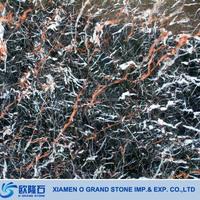 Polished Marble Flooring Tile Azalea Red Brown Beauty Marble Tile