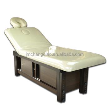 Beauty Product Wooden Facial Bedu0026Mechanical Massage Bedu0026Massage Bed