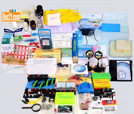 Physical and chemical biological laboratory equipment box