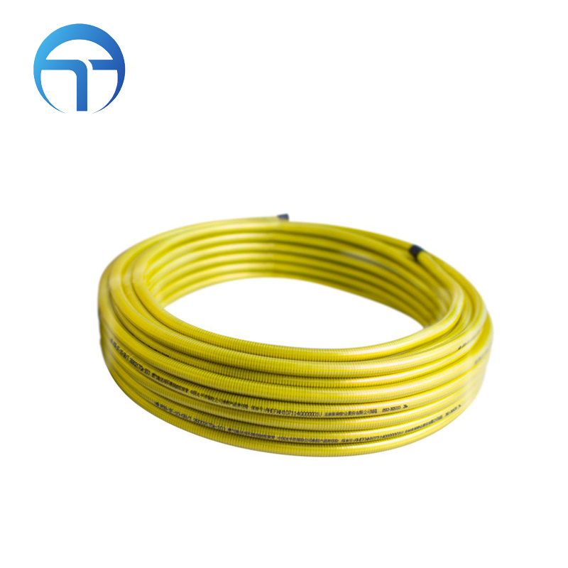 yellow pvc irrigation pipe 5/8 inch plastic flexible hose price