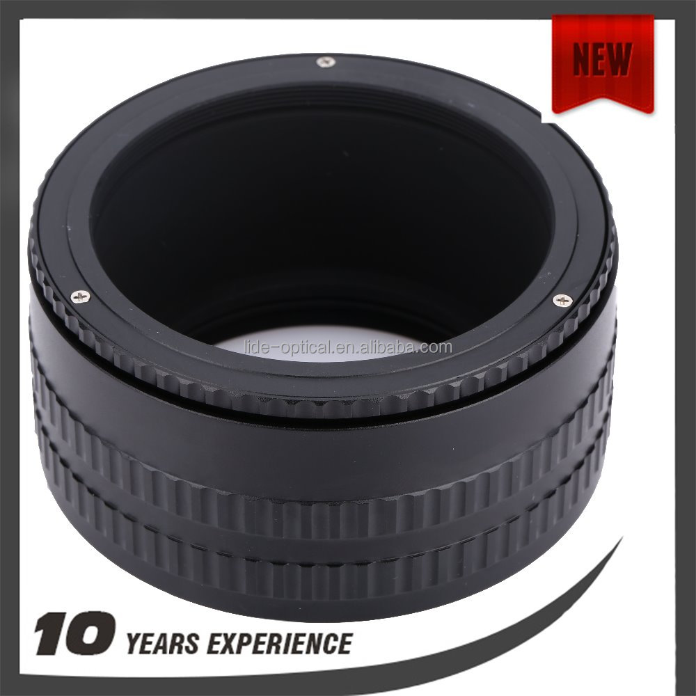 M58 to M58 Adjustable focusing Helicoid 36 to 90mm adapter