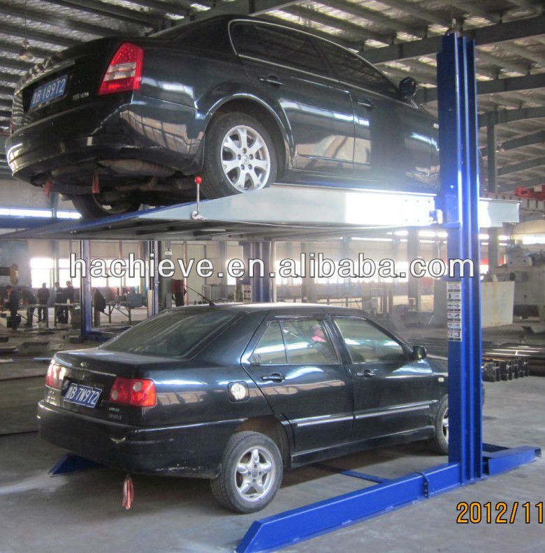 Hydraulic Space Saving Car Lift Suppliers And Manufacturers At Alibaba