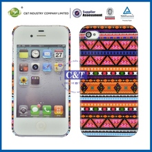 Water transfer printing oem cover for iphone 4