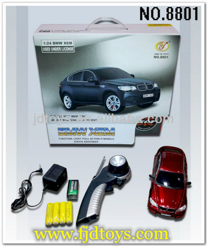 Bayerische Motoren Werke Authorize X6M metal 1:24 radio control model car