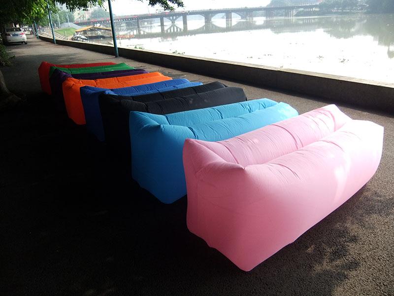 Heißer Verkauf Strand Faul Laybag Schnelle Luft Aufblasbare Liege Mit  Baldachin