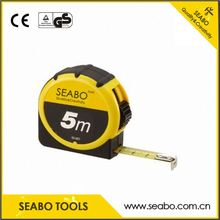 Lightweight steel tape measure with 3 brakes with high quality