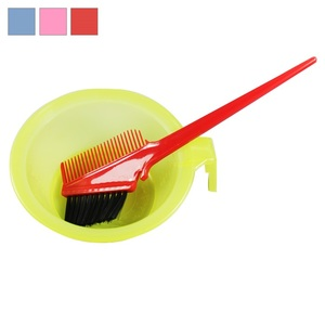 Plastic salon hair dye color whip mixing bowls