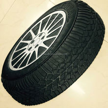 Painted Shaped Recycled Tyre Rubber Mat