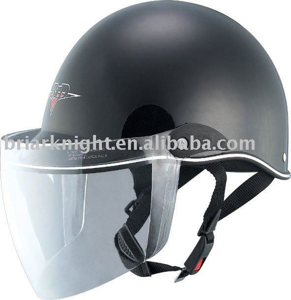 Have dot certified motorcycle helmets
