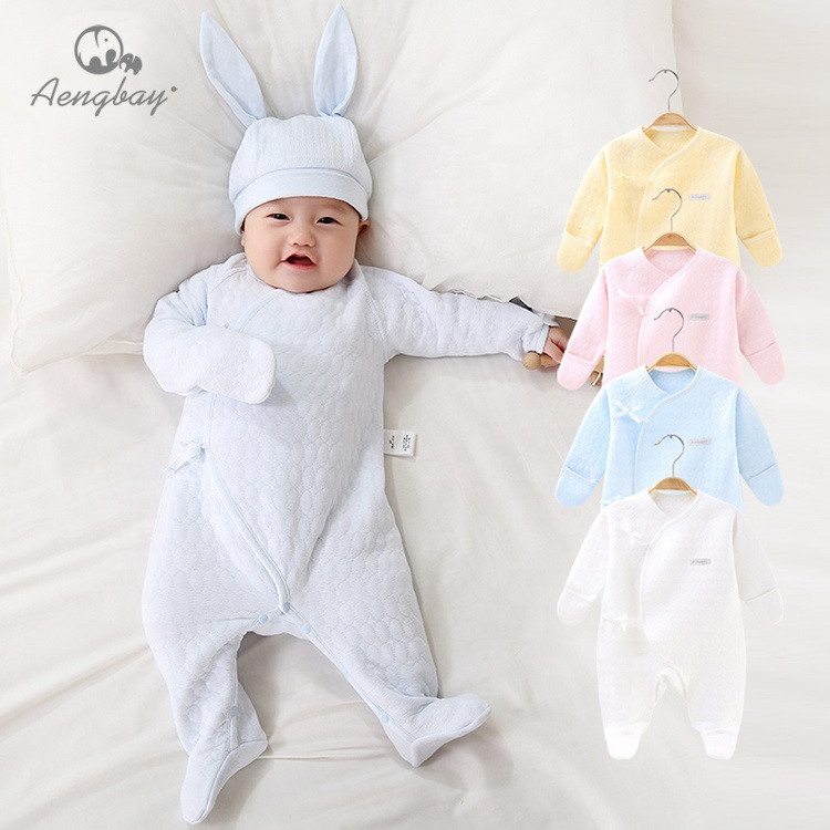 Wholesale newborn baby import romper baby boy clothing romper 100%cotton infant clothes 0-2 years romper in China фото
