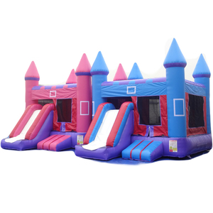 PK Kids Game Playground Inflatable Bouncer & Slide Inflatable Bouncy House For Sale