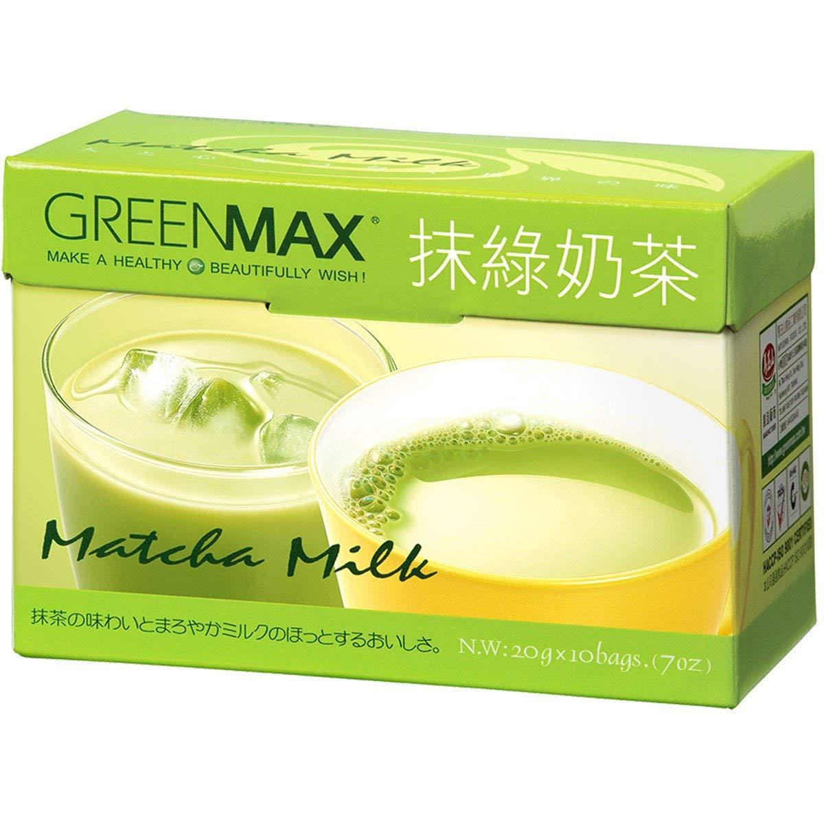 Greenmax -Matcha Milk (Instant Green Milk Tea) z (Pack of 1)