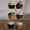 Tiers Clear Acrylic Cake Holder for Party