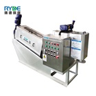 Waste Water Treatment Sludge Dewatering Filter Press Machine for Industrial Waste Water Treatment