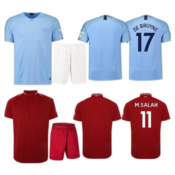 Camiseta De Fútbol 2019 Adultos Camiseta De Fútbol Barato Uniformes ... c4ceb0877406a