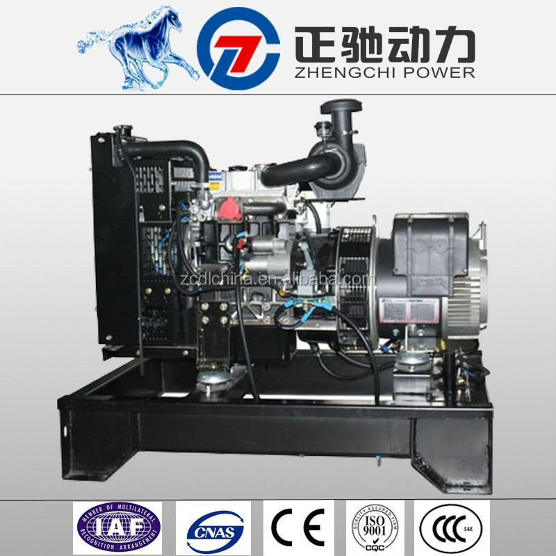 9kva 12v dc 186f diesel engine generator low rpm with UK egine 403A-11G