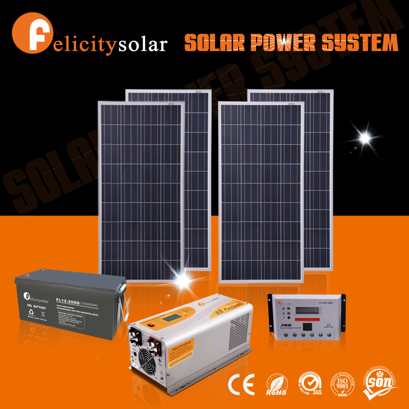 Residential durable 1000w portable solar power systems with battery backup