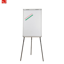 High adjustable writing board with easel stand flip chart paper