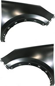 Evan-Fischer EVA1690809141113 CAPA Fender Set of 2 Front Driver and Passenger Side Steel Primered