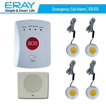 Sos Elderly Help Gsm Personal Emergency Alarm System Wireless With Bracelet