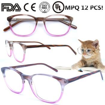 2018 Women Fashion Eyeglass Round Vintage Eyeglass Frame For Lady ...
