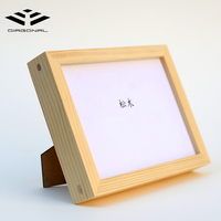 Factory supply custom photo picture frame pure wood picture frame a4