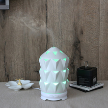 120 ml Changing Color Led Light Electric Porcelain Essential Oil Diffuser