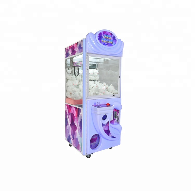 New coming out 31 inch single Happy House plush crane toy vending machine claw machine <strong>game</strong>
