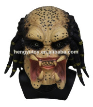 Alien Skeleton Predator Cosplay Mars Scary Latex Halloween Maske
