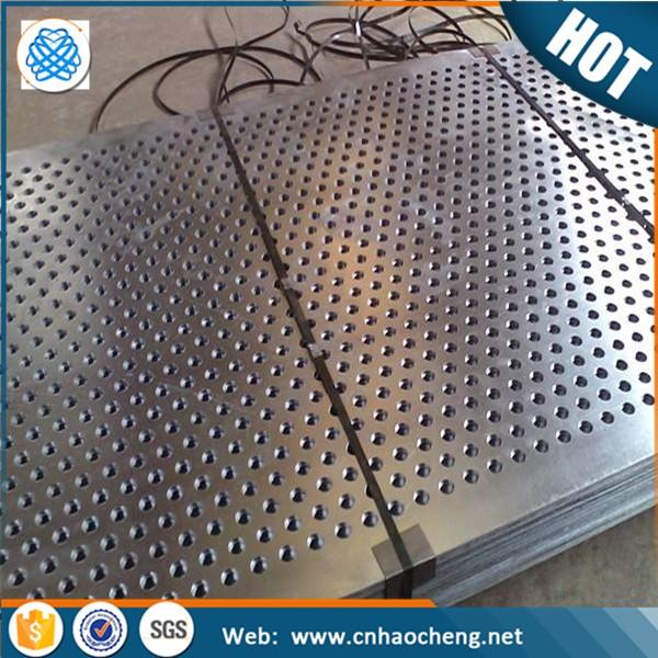 Decorative Aluminum Micro Lowes Perforated Sheet Metal
