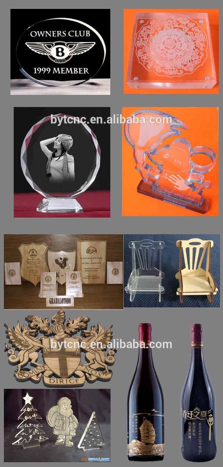 Mejor Precio 3D Foto Kristal de grabado láser Harga Mesin Software