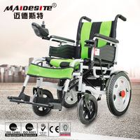 Optional color elderly used power wheelchair free controlling