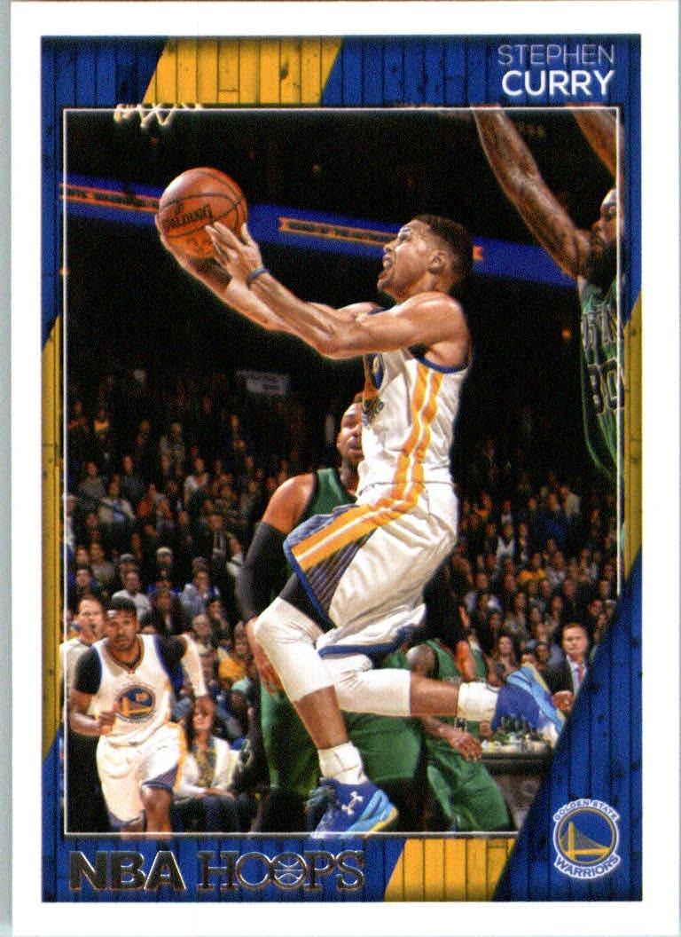 2016-17 Panini NBA Hoops #148 Stephen Curry Golden State Warriors Basketball Card-MINT
