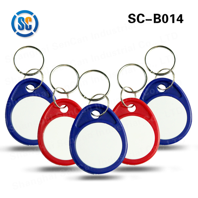 Original manufacturer hot sale pvc 125khz rfid abs smart keychain