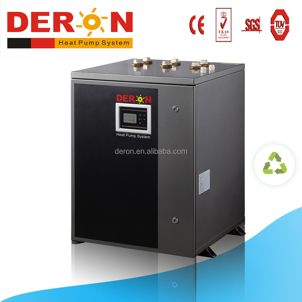 Deron ground source heat pump water heater provide hot water bathtubs jacuzzi