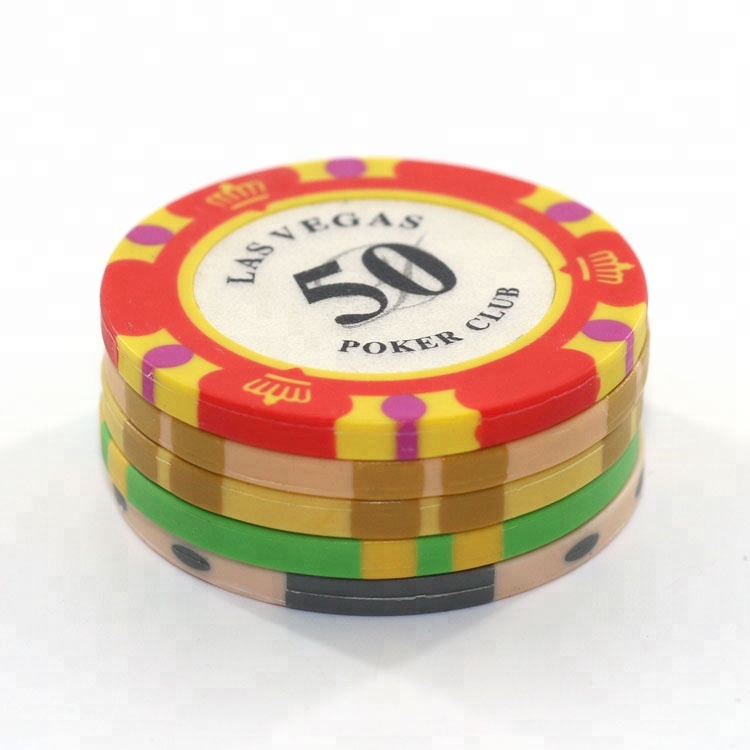 Custom gedrukt poker chips casino chips