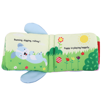 CPSIA standard USA Amazon best seller toy plush cloth book