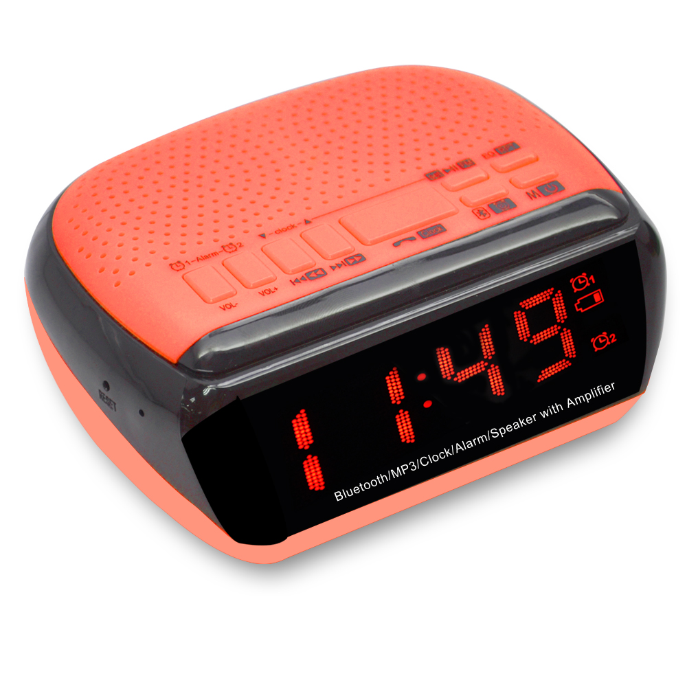 Wake Up Light Alarm Large Capacity Features Clock Radio