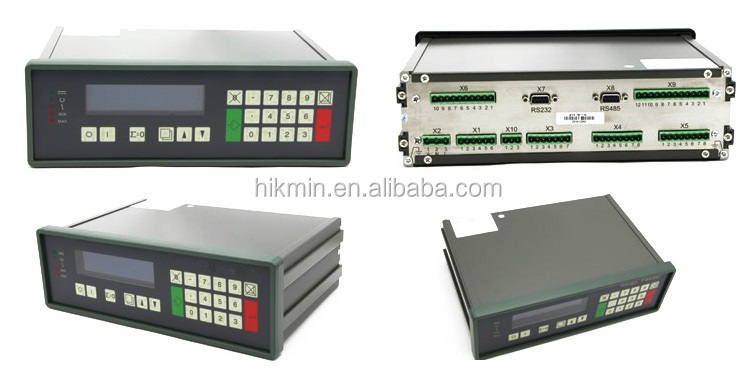 Belt Scale and Weigh Belt Feeder Indicator Instrument Controller
