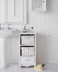 New Natural Willow Wicker Cabinet Storage Import Furniture Indonesia